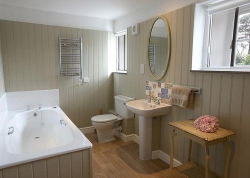 Ванная комната вагонкой пластиковой дизайн 180