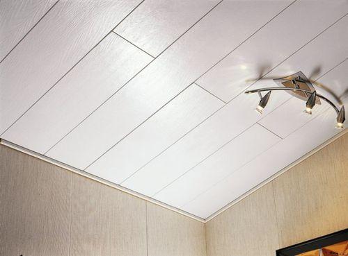 Красивый МДФ потолок