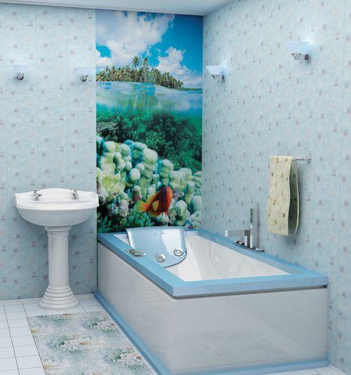 Самостоятельная отделка ванной пластиковыми ПВХ панелями