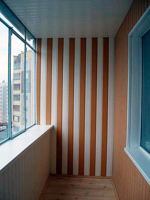 Пластиковые панели для балкона: виды, размеры, расцветки