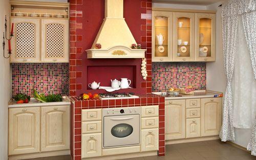 Замена плитке на кухне