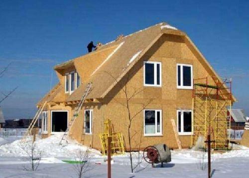 Технология строительства дома из сэндвич панелей