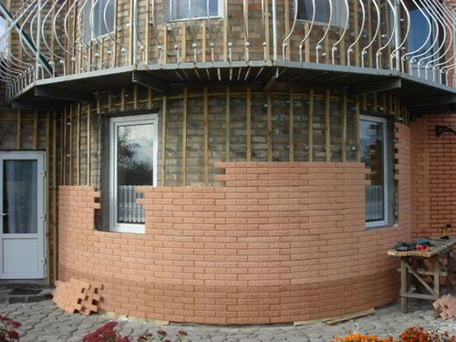 Облицовка дома фасадными панелями