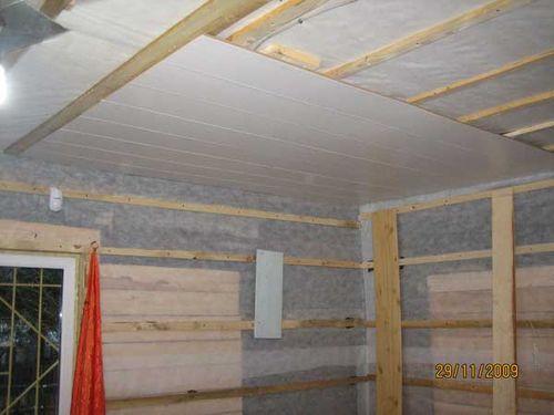 Как монтировать каркас для панелей ПВХ на стены и потолок