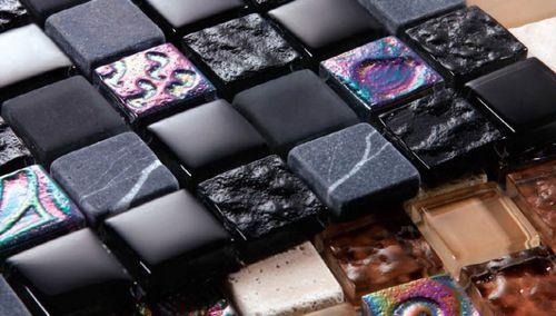 Как выбрать и клеить панели мозаики