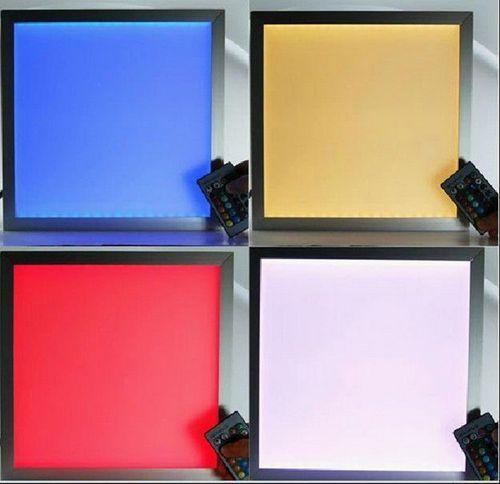 Все про светодиодные панели на потолок: виды и характеристики